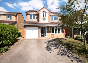 Thumbnail 4 bed detached house for sale in Monteigne Drive, Bowburn, Durham