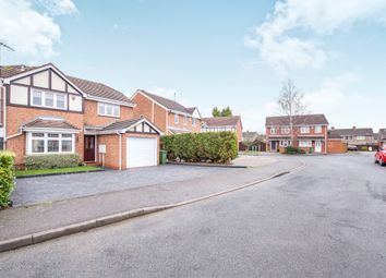 Thumbnail 4 bed detached house for sale in Sword Close, Glenfield, Leicester