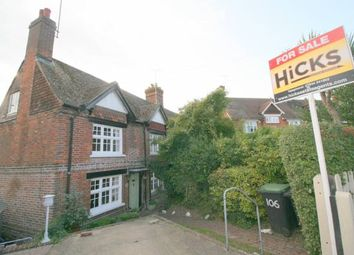 Thumbnail 3 bed cottage for sale in Bow Road, Wateringbury, Maidstone