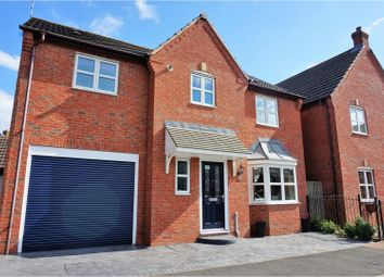 Thumbnail 4 bed detached house for sale in Hawthorne Road, Coalville