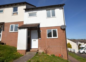 Thumbnail 3 bed semi-detached house for sale in Widecombe Way, Pennsylvania, Exeter, Devon