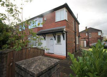 Thumbnail 3 bed semi-detached house to rent in Humphrey Lane, Urmston