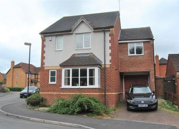 Thumbnail 4 bed detached house for sale in Tracy Close, Abbey Meads, Swindon