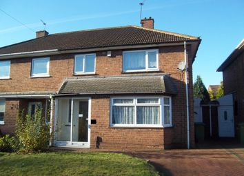 Thumbnail 3 bed semi-detached house to rent in Plascom Road, Wolverhampton
