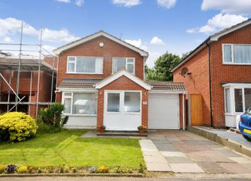 Thumbnail 3 bed detached house for sale in Waveney Rise, Oadby, Leicester