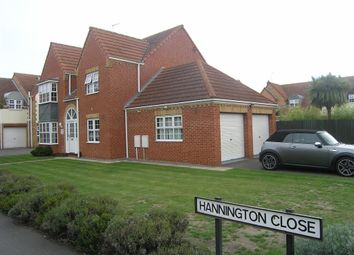 Thumbnail 4 bed detached house for sale in Hannington Close, Whittlesey, Peterborough