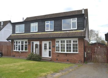 Thumbnail 3 bed property for sale in Conway Drive, Shepshed, Loughborough