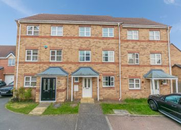 Thumbnail 4 bed terraced house for sale in Hanworth Close, Leicester