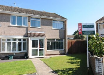 Thumbnail 3 bed end terrace house for sale in Stratford Close, Whitchurch, Bristol