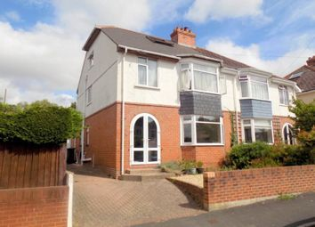 Thumbnail 4 bed semi-detached house for sale in Iona Avenue, Exmouth, Devon