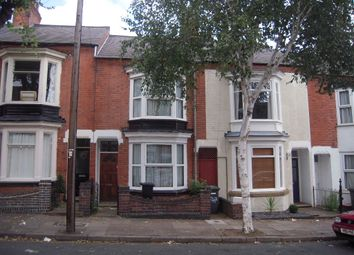 Thumbnail 3 bedroom terraced house to rent in Harrow Road, Leicester