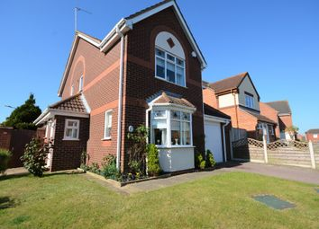 Thumbnail 4 bed detached house for sale in Longbeach Drive, Carlton Colville, Lowestoft