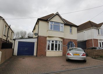Thumbnail 4 bed detached house for sale in Exeter Road, Dawlish, Devon