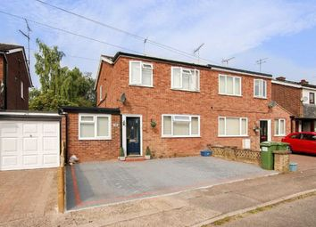 Thumbnail 3 bedroom semi-detached house to rent in The Elms, Bletchley, Milton Keynes