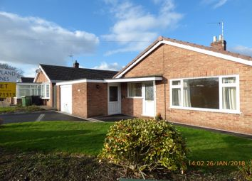 Thumbnail 3 bed bungalow to rent in Wilfred Gardens, Ashby De La Zouch, Leicestershire