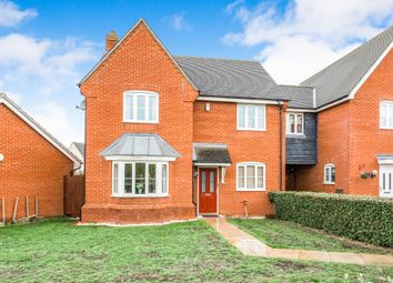 Thumbnail 4 bed detached house for sale in Blackbird Drive, Bury St. Edmunds