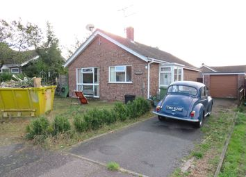 Thumbnail 2 bed detached bungalow for sale in Hemmant Way, Gillingham, Beccles