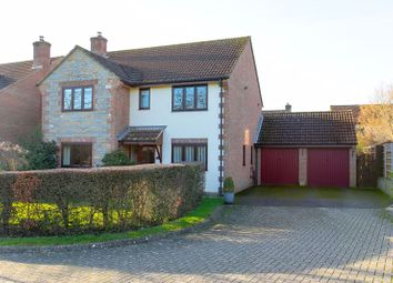 Thumbnail 4 bed detached house for sale in Abbey Fields, Curry Rivel, Langport