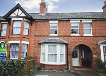 Thumbnail 4 bed terraced house for sale in Roft Street, Oswestry