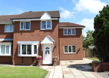 Thumbnail 4 bed semi-detached house for sale in Hillcrest Close, Tarleton, Preston