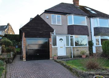 Thumbnail 3 bed semi-detached house to rent in Croft Way, Menston, Ilkley