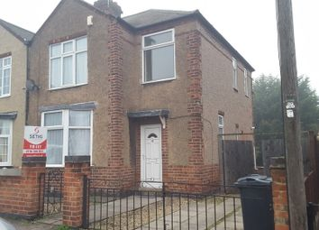 Thumbnail 3 bedroom semi-detached house to rent in Huntington Road, Off Gypsy Lane, Leicester