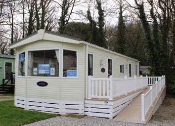 Thumbnail 2 bed mobile/park home for sale in St Minver Holiday Park, Near Rock, Wadebridge