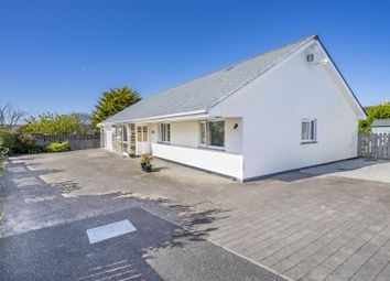 Thumbnail 3 bed detached bungalow for sale in Carwinion Road, Mawnan Smith, Falmouth