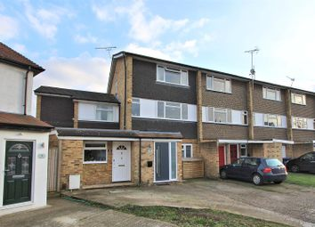 Thumbnail 4 bed town house for sale in Binfield Road, Byfleet, West Byfleet