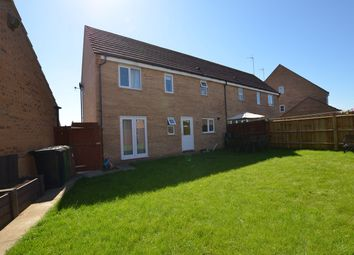 Thumbnail 3 bed semi-detached house for sale in Geddington Road, Sugar Way, Peterborough