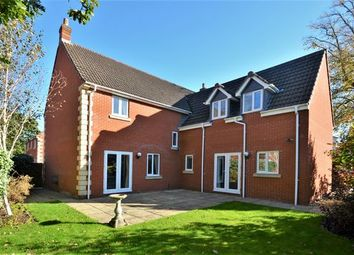 Thumbnail 5 bed detached house for sale in Redvers Way, Tiverton