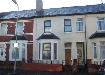 Thumbnail 2 bedroom terraced house to rent in Pembroke Road, Cardiff