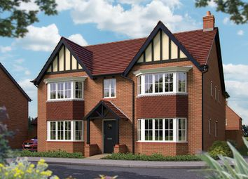 "Thumbnail 5 bed detached house for sale in ""The Ascot"" at Harbury Lane, Heathcote, Warwick"