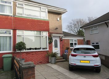 Thumbnail 3 bed terraced house for sale in Horwood Avenue, Rainhill