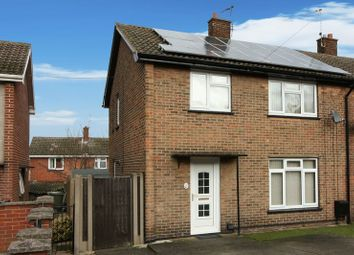 Thumbnail 3 bed semi-detached house for sale in Breck Bank, Ollerton, Newark