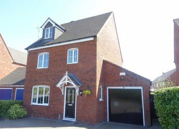 Thumbnail 5 bed detached house for sale in Applebees Meadow, Hinckley