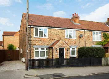 Thumbnail 3 bedroom semi-detached house for sale in The Village, Wigginton, York