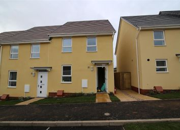 Thumbnail 3 bed semi-detached house to rent in Tiverton Road, Cullompton
