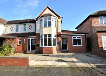 Thumbnail 3 bed semi-detached house to rent in Norcott Avenue, Stockton Heath, Warrington