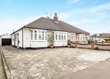 Thumbnail 2 bed semi-detached bungalow for sale in Pettits Lane North, Romford