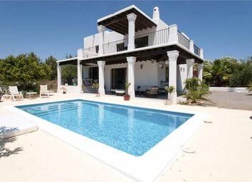 Thumbnail 3 bed property for sale in New Build South Facing Rustic Villa, Santa Eulalia, Ibiza, Balearic Islands, Spain