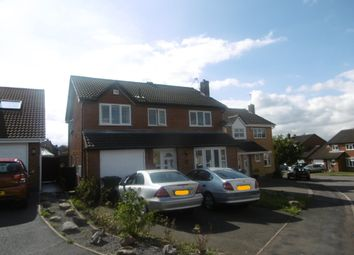 Thumbnail 3 bed property to rent in Winterfield Close, Glenfield, Leicester