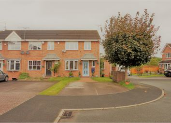 Thumbnail 3 bedroom end terrace house for sale in Aldersea Close, Stoke-On-Trent