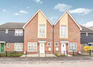Thumbnail 3 bed terraced house for sale in Gwendoline Buck Drive, Aylesbury