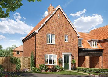 Thumbnail 3 bed semi-detached house for sale in St Michaels Way, Off Long Lane, Wenhaston, Suffolk