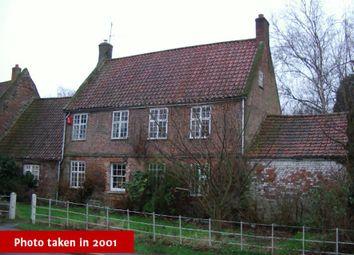 Thumbnail 3 bed detached house for sale in All Saints House, 34 Church Road, Tilney All Saints, Kings Lynn, Norfolk