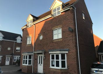 Thumbnail 4 bed detached house for sale in Castilla Place, Burton-On-Trent, Staffordshire