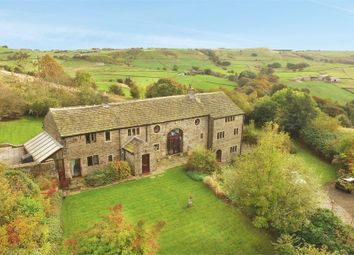 Thumbnail 5 bed detached house for sale in Foster Place Lane, Hepworth, Holmfirth, West Yorkshire