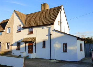 Thumbnail 3 bed semi-detached house for sale in Marsh Road, Bulwark, Chepstow