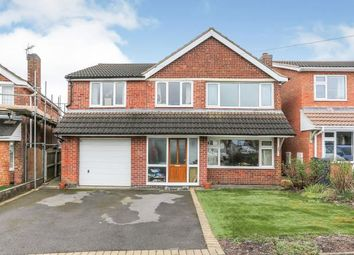 Thumbnail 4 bed detached house for sale in Holte Road, Atherstone, Warwickshire
